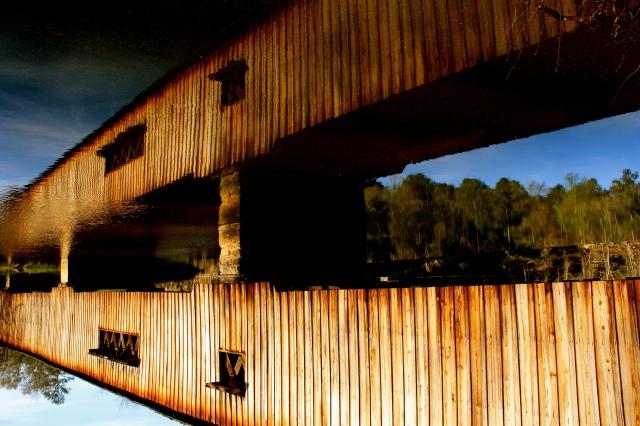 Watson Mill Bridge Mirror 1