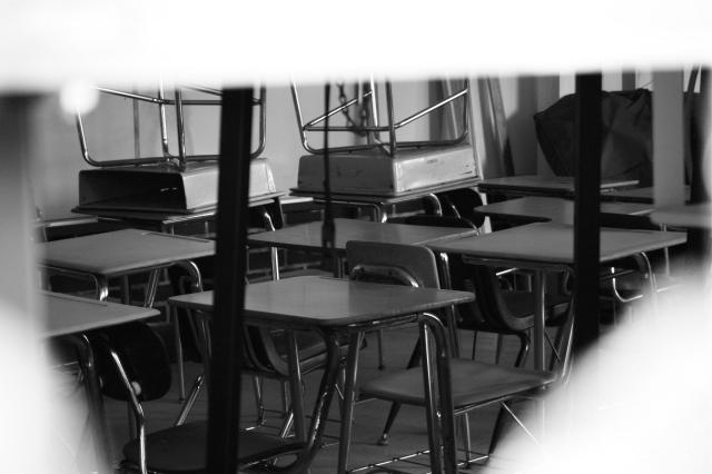 Rows of Desks