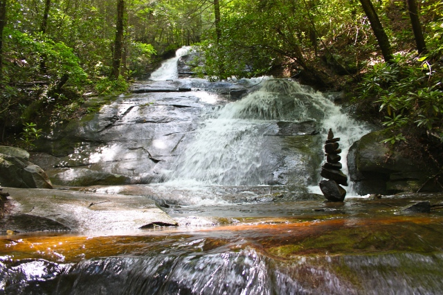 Fall Branch Falls Stone Art