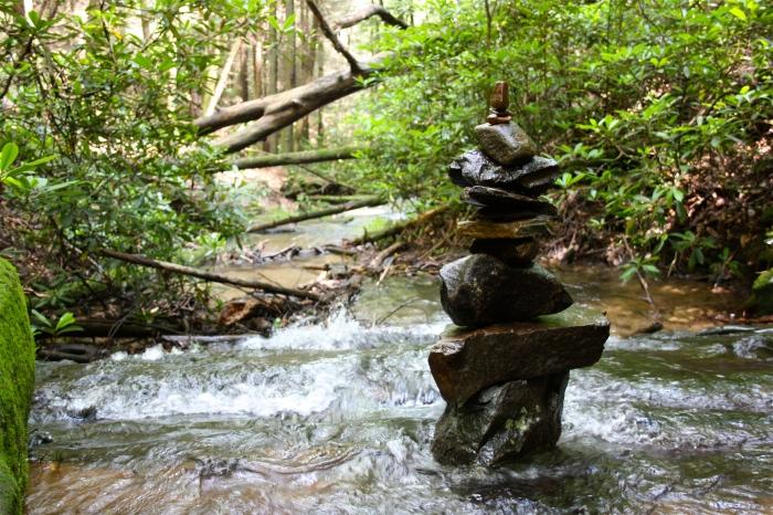 Fall Branch Falls Stone Stack
