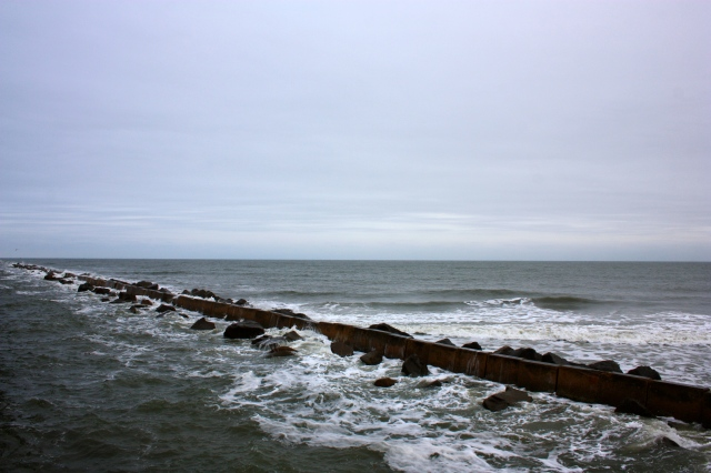Fort Clinch Breakwater