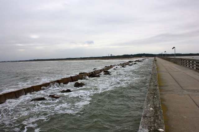 View From Fort Clinch Fishing Pier