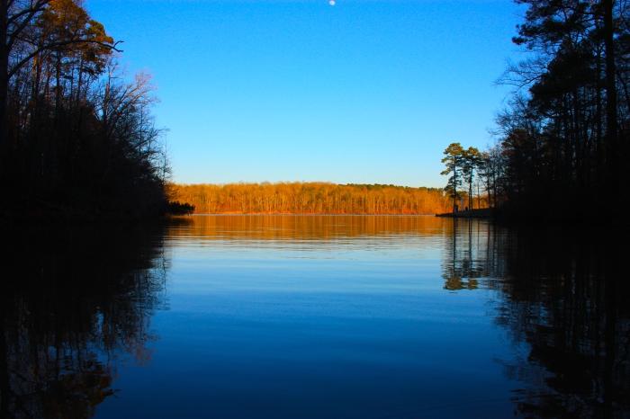 Lake Chapman Dusk