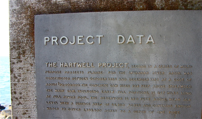 Lake Hartwell Project Data