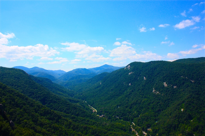 Chimney Rock State Park Vista 2