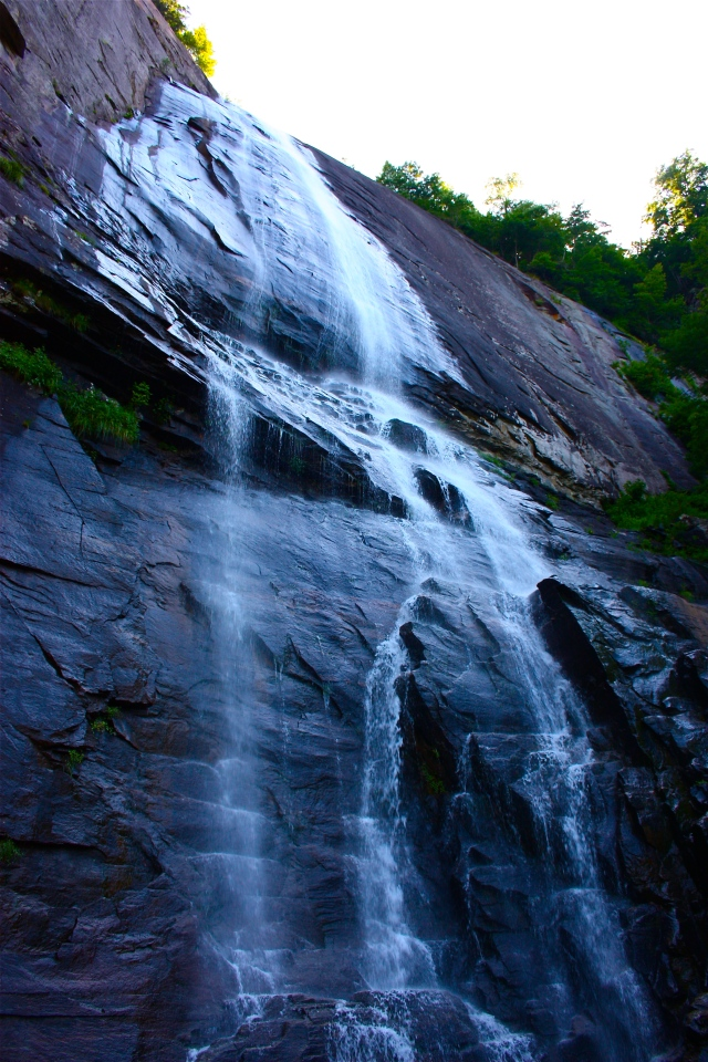 Chimney Rock Waterfall